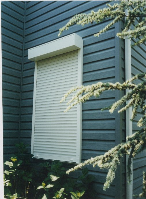 Rolling Hurricane Shutters and Storm Shutters